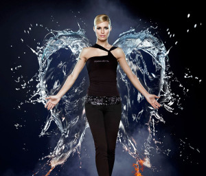 Angel Devil Michelle Hunziker Remo di Gennaro